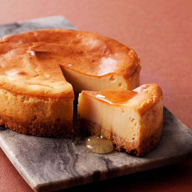 「はちみつチーズケーキ」のオンライン販売をはじめました。